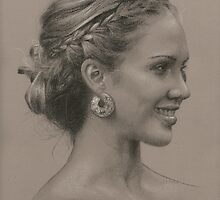 Portrait of Jessica by golfiscool