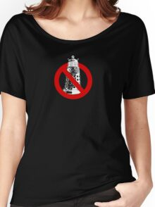 WHO you gonna call? Black Women's Relaxed Fit T-Shirt
