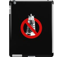 WHO you gonna call? Black iPad Case/Skin
