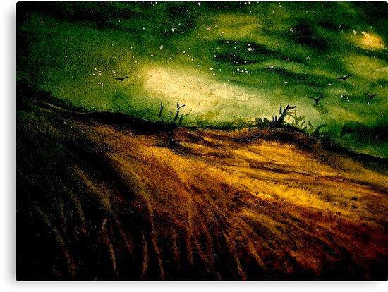 Landscape...Wessex Tales by ©Janis Zroback
