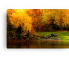 Fall Planting Canvas Print