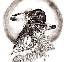 Little Feathers Mother by jladkins