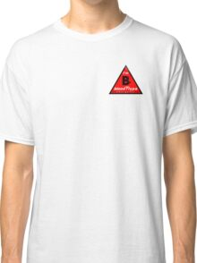B- blood type information / stay safe, I suggest application to helmets Classic T-Shirt