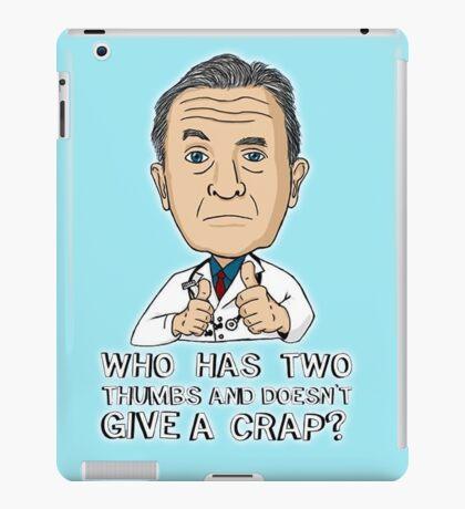 Scrubs Bob Kelso 2 iPad Case/Skin
