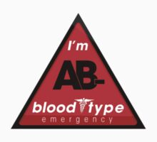 AB- blood type information / stay safe, I suggest application to helmets by VisualAffection