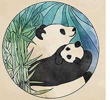 Panda Love by Perrin Le Feuvre