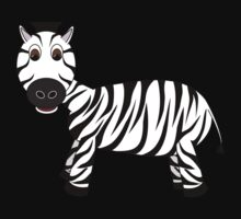 Black and White Zebra Kids Clothes