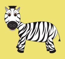 Black and White Zebra Kids Clothes