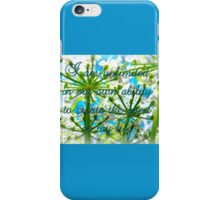 I am unlimited in my ability to create GOOD in my life iPhone Case/Skin