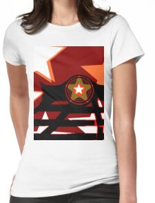 Rock & Roll design  Womens Fitted T-Shirt