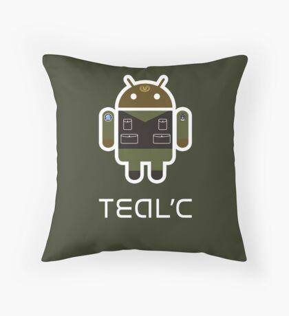 Droidarmy: Teal'c SG-1 Throw Pillow