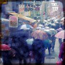 Through my umbrella by Marie Wintzer