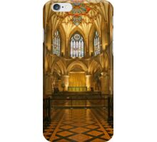 Tewkesbury Abbey iPhone Case/Skin