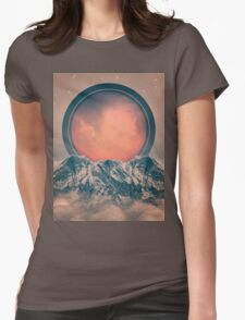 Rise Again (Solar Eclipse) Womens Fitted T-Shirt