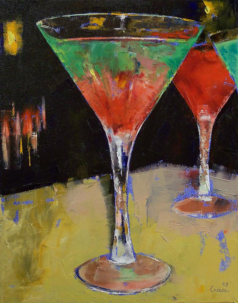 Watermelon Martini by Michael Creese