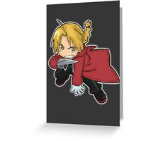 Edward Elric Chibi Greeting Card