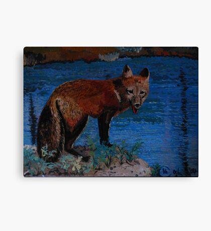 Mischievous, As In Fox Canvas Print