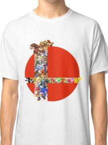 Super Smash Bros characters Classic T-Shirt