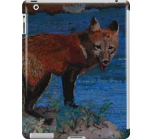 Mischievous, As In Fox iPad Case/Skin