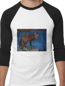 Mischievous, As In Fox Men's Baseball ¾ T-Shirt