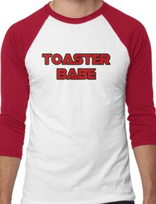Toaster Babe Men's Baseball ¾ T-Shirt