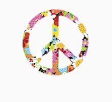 Peace Symbol Hippie 3 Unisex T-Shirt