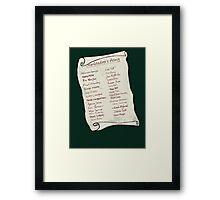 Dumbledore's Army Framed Print