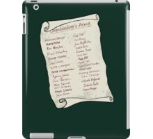Dumbledore's Army iPad Case/Skin