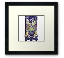 The Legend of Zelda: Majora's mask, the 4 Giants Framed Print