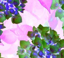 Summer flowers 1 Sticker