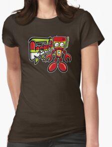 Cyborg Mascot Tag T-Shirt