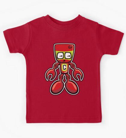 Cyborg Mascot Kids Tee