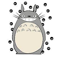 Totoro Inspired Art Photographic Print