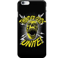 Thunder Gods Unite! iPhone Case/Skin