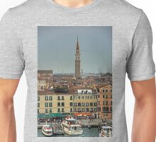 The busy waterfront Unisex T-Shirt