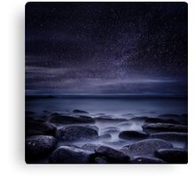 Shining in darkness Canvas Print