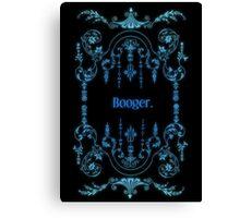 Booger (alternate) Canvas Print