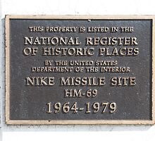 National Registry of Nike Missile site HM-69 by njordphoto