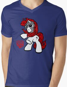 My little Pwny Mens V-Neck T-Shirt