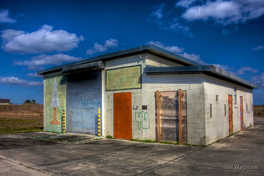 Everglades Missile Site by Bill Wetmore