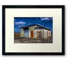 Everglades Missile Site Framed Print
