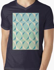 Triangles and Squares X Mens V-Neck T-Shirt