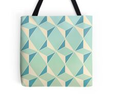 Triangles and Squares X Tote Bag
