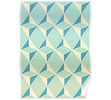 Triangles and Squares X Poster