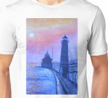 Lighthouse at Dusk Unisex T-Shirt