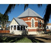 St George's Anglican Church, Carnarvon, Australia Photographic Print
