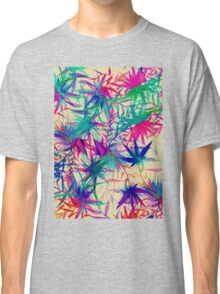 Tropical Jungle - a watercolor painting Classic T-Shirt