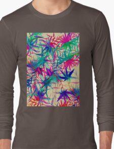 Tropical Jungle - a watercolor painting Long Sleeve T-Shirt