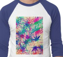 Tropical Jungle - a watercolor painting Men's Baseball ¾ T-Shirt
