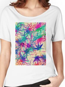 Tropical Jungle - a watercolor painting Women's Relaxed Fit T-Shirt
